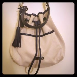 Coach Canvas Bucket Bag